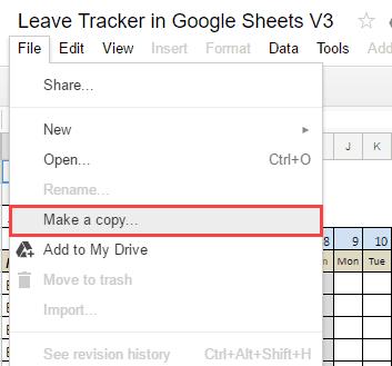 employee leave tracker