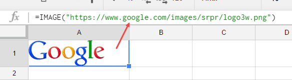 Google Sheets Tips and Tricks - insert image
