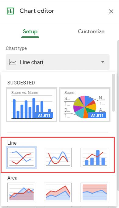 Three types of line chart (1)