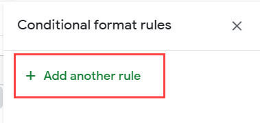 Click on add new rule