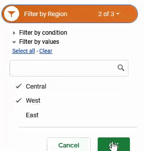 Include West in the Slicer Filter