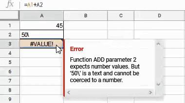 Value error