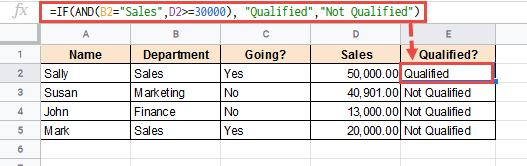 combine comparison operators with logical operators