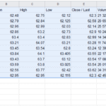 Copy the table into Google Sheets