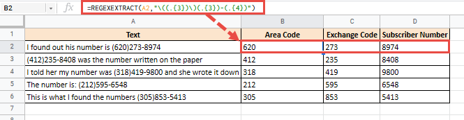Extract numbers in parenthesis