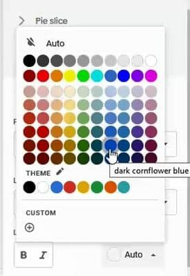 add label colors google sheets