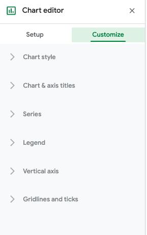 customize radar chart google sheets