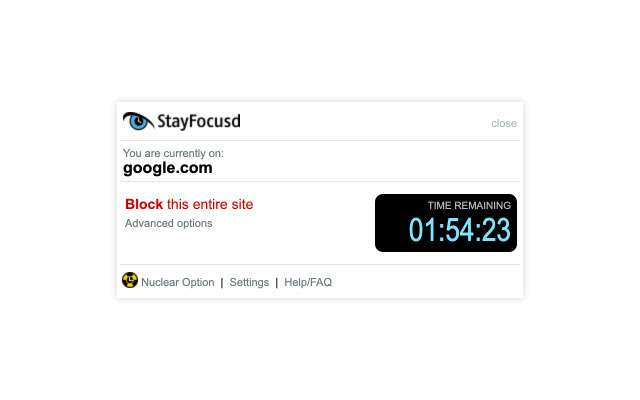 StayFocusd allows you to block or limit your time spent on specific websites.