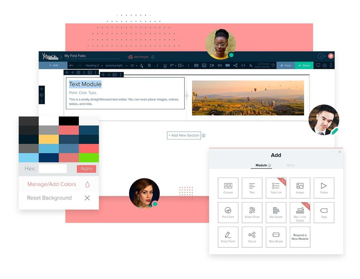 xtensio marketing communication tools
