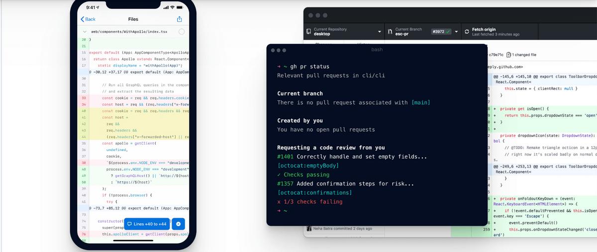 github remote collaboration platform