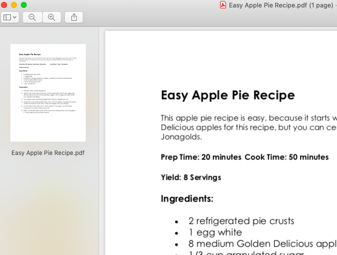 How To Combine PDF Files in Preview